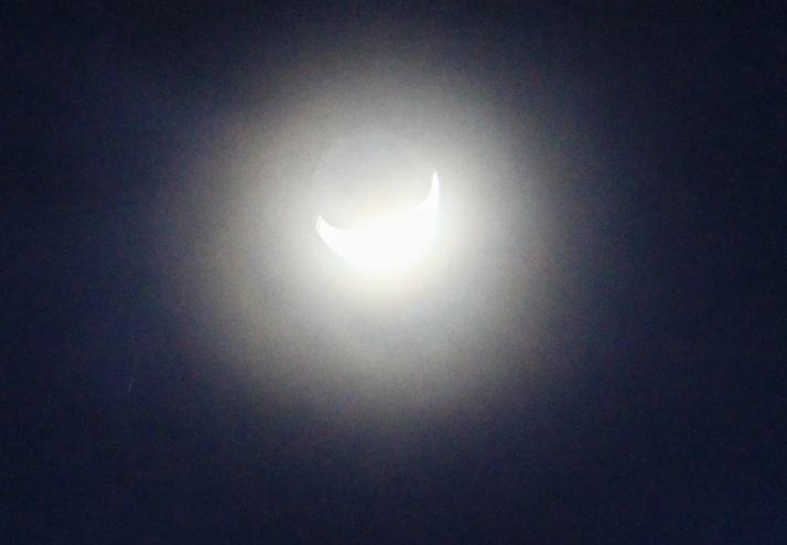 Moon on a Texas Winter's Night