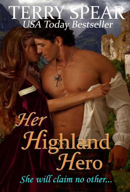 her highland hero cover with title cursive3 (432x640)
