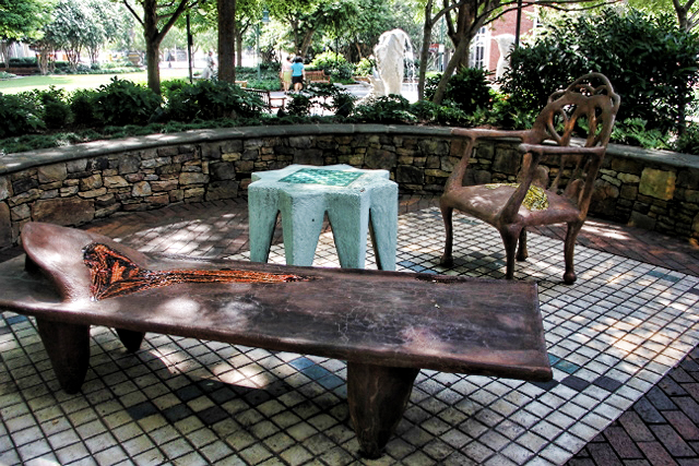 Artistic outdoor furniture charlotte nc park terry for Outdoor furniture 28277