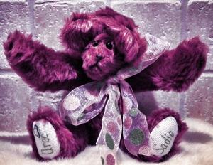 Mauve Bear