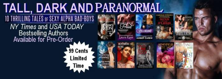 Tall, Dark and Paranormal with all our covers