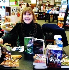 Signing at HarMar Barnes and Noble, Rosewood, MN
