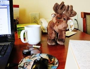 "My ""Hotel"" Office in White Bear"