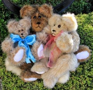 Papa, Momma and Baby Bear