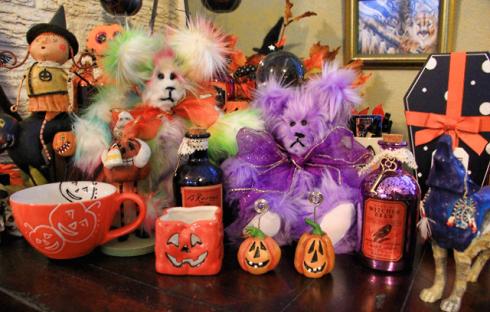 Terry Spear, paranormal, author, crafts, teddy bear, Halloween