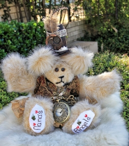 Steampunk Bear, angel (563x640)