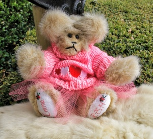 Pink Sweater Bear with Tutu