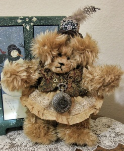 Steampunk Golden Bear-Sold!