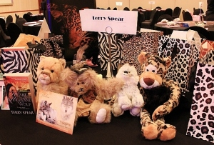 Table Display at the Readers and Ritas Dinner