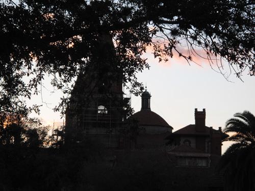 St Augustine sun setting