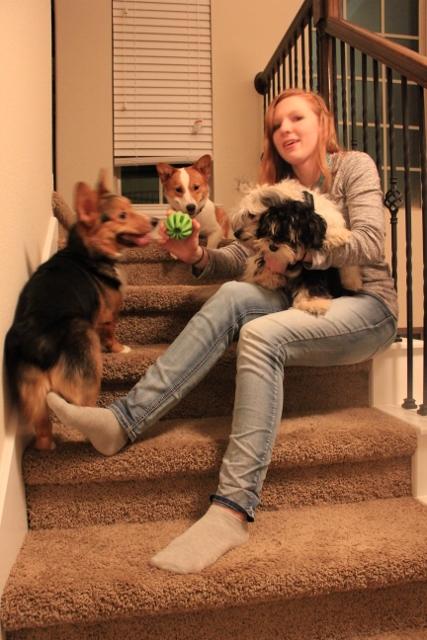 Jennifer Gone to the Dogs