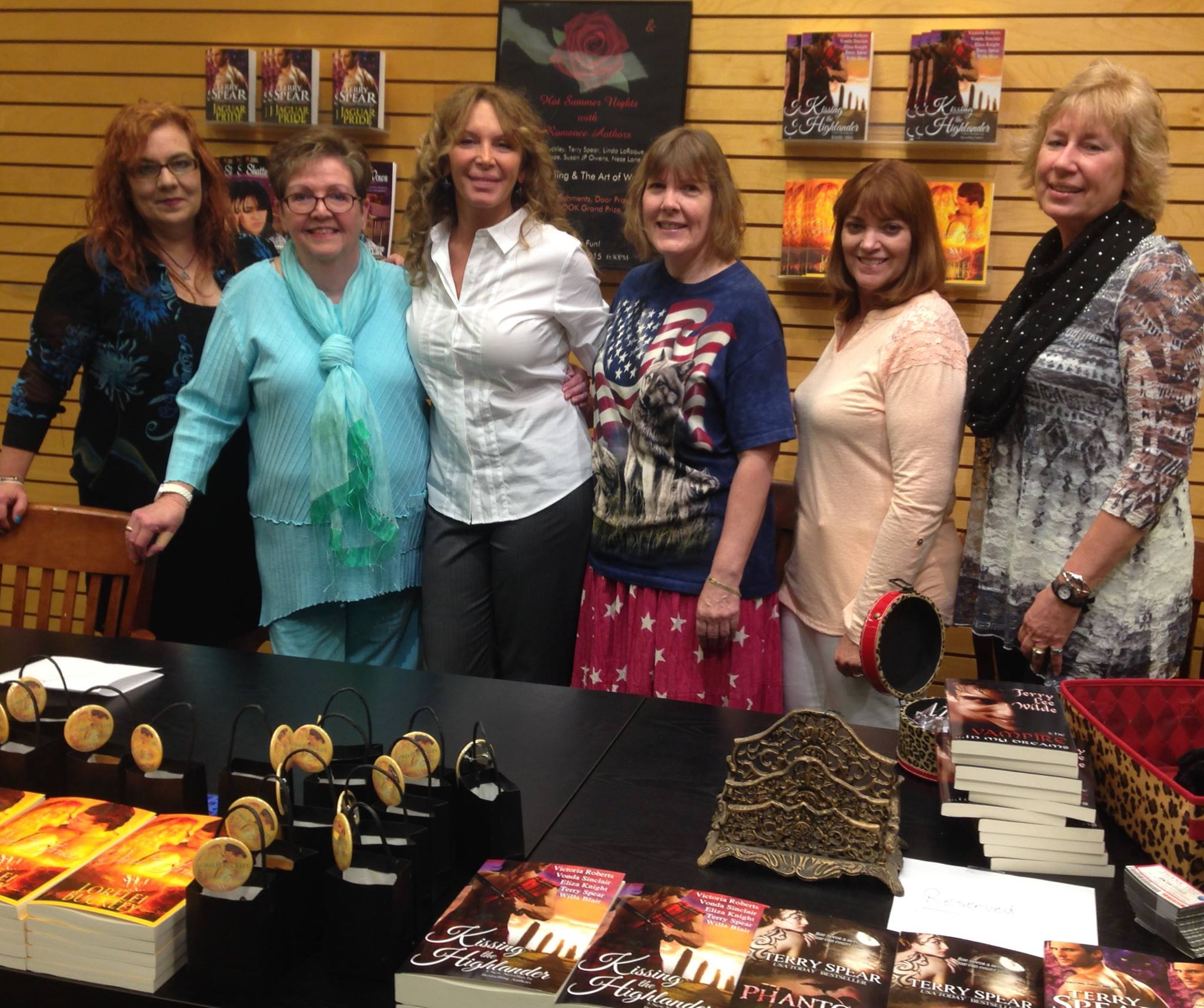 Fierce Romance Barnes And Noble Book Signing Waco Texas