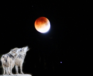 Blood Moon Eclipsing