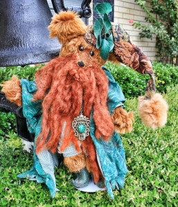 Red Mohair Wizard