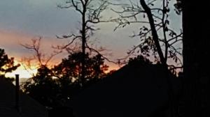 Sunset Here