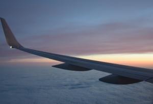 Sunset over NY