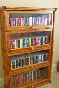 new barrister book case 400