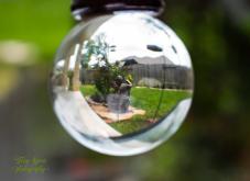 crystal ball statue 900 041