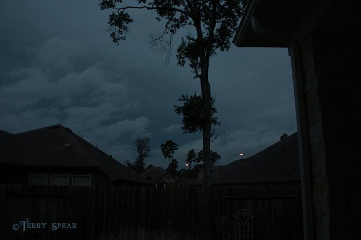 Friday night sky, Hurricane Harvey 900