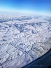 snow and contours